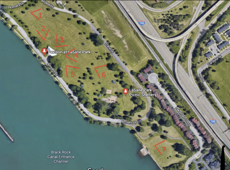 Buffalo Kickball Field Map