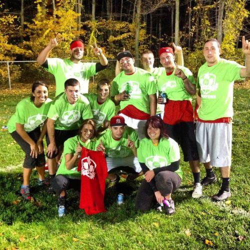 2012 Fall Kickball Champions 'Balls Deep'