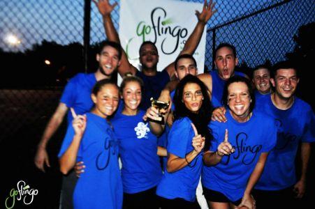 2012 Summer Advanced Kickball Champions 'Balls Deep'