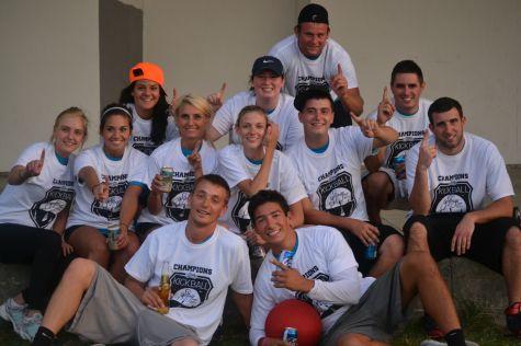 Summer 2013 Advanced Kickball Champions 'I'd Kick That'