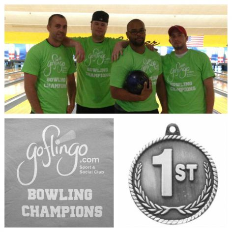 2013 Season 2 Bowling Champions 'In the Alley'